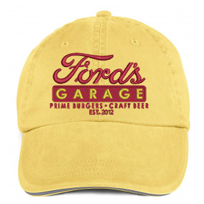 Official Ford's Garage Low-Profile Twill Cap - Sunshine